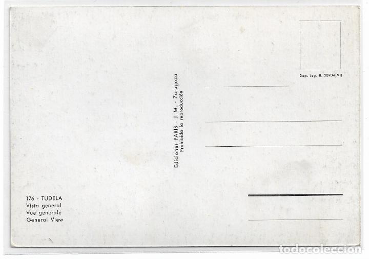 Postales: TUDELA - VISTA GENERAL - EDICIONES PARIS - P28540 - Foto 2 - 158127034