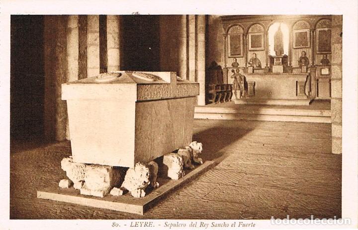 LEYRE, SEPULCRO DEL REY SANCHO EL FUERTE. ROISIN Nº 80 (Postales - España - Navarra Antigua (hasta 1.939))