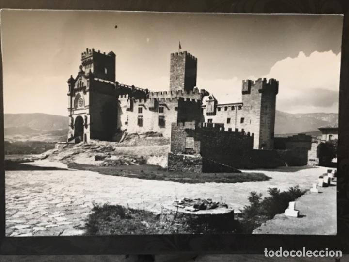 CASTILLO DE JAVIER VISTA DEL CASTILLO Y BASILICA ED SICILIA BUENA POSTAL NAVARRA (Postales - España - Navarra Moderna (desde 1.940))