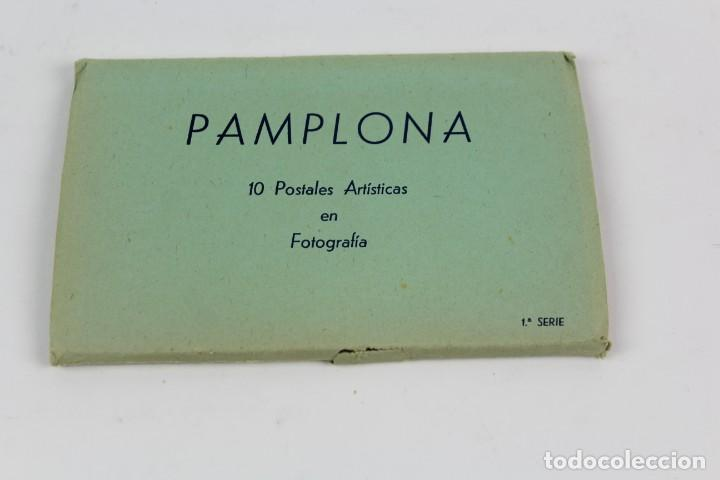 P-9372. BLOC DE POSTALES PAMPLONA. 1ª SERIE. ED. MANIPEL. (Postales - España - Navarra Moderna (desde 1.940))