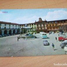 Postales: TUDELA ( NAVARRA ) PLAZA DE LOS FUEROS ( KIOSCO ). Lote 165023722