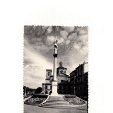 Postales: PAMPLONA.(NAVARRA).- IGLESIA DE SAN LORENZO Y MONUMENTO A LA INMACULADA.. Lote 165113950