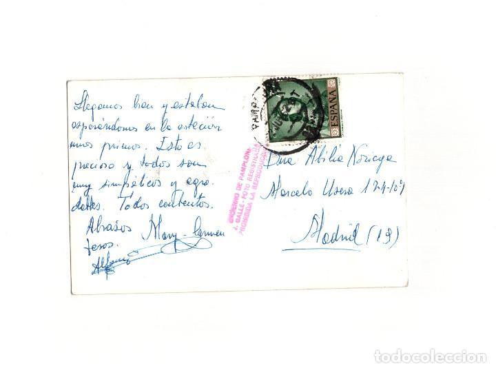 Postales: PAMPLONA.(NAVARRA).- ENCIERRO DE SAN FERMÍN. GALLE FOTÓGRAFO. - Foto 2 - 165120790
