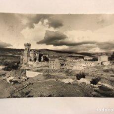 Postales: CASTILLO DE JAVIER (NAVARRA) POSTAL NO.1 VISTA GENERAL. EDITA: EDICIONES SICILIA (A.1963). Lote 165396436