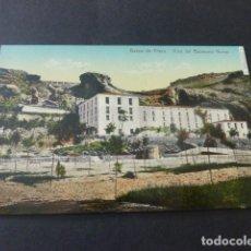 Postales: BAÑOS DE FITERO NAVARRA VISTA DEL BALNEARIO NUEVO. Lote 165481402