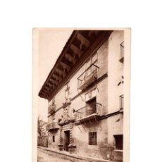 Postales: SANGÜESA.(NAVARRA), CASA DE LOS MARQUESES DE VALLE SANTORO.. Lote 165533670