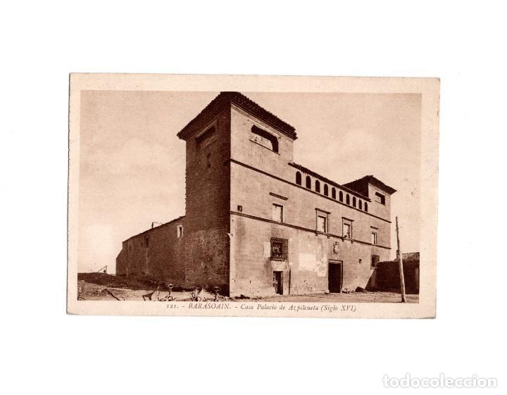 BARASOAIN.(NAVARRA).- CASA PALACIO DE AZPILCUETA (SIGLO XVI). (Postales - España - Navarra Antigua (hasta 1.939))