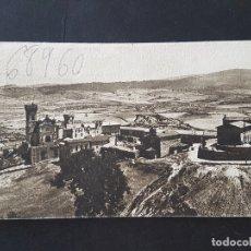 Postales: CASTILLO DE JAVIER NAVARRA VISTA PANORAMICA. Lote 165664022