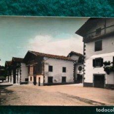 Postales: ERRAZU. 7 CARRETERA DE FRANCIA. EDICIONES SICILIA. ORIGINAL, BRILLO, COLOREADA. ESCRITA 1969. Lote 165880438