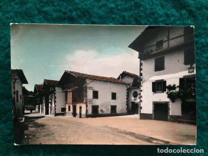 Postales: ERRAZU. 7 CARRETERA DE FRANCIA. Ediciones Sicilia. Original, brillo, coloreada. ESCRITA 1969 - Foto 2 - 165880438