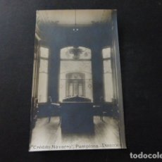 Postales: PAMPLONA NAVARRA BANCO CREDITO NAVARRO DIRECCION POSTAL FOTOGRAFICA. Lote 166095714