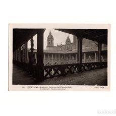 Postales: PAMPLONA.(NAVARRA).- CATEDRAL CONJUNTO DEL CLAUSTRO ALTO.. Lote 166111134