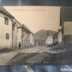 Postales: ANTIGUA POSTAL GARRALDA NAVARRA ENTRADA AL PUEBLO NUM 12 . Lote 166163502