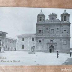 Cartes Postales: POSTAL DE CORELLA, PLAZA DE LA MERCED. Lote 166646130