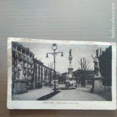 Postales: POSTAL PAMPLONA-MONUMENTO A LOS FUEROS. Lote 166785430