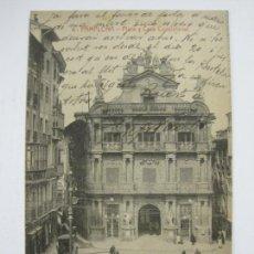 Postales: PAMPLONA-PLAZA Y CASA CONSISTORIAL-4-ED·VDA.ROLDAN-VER FOTOS-(60.415). Lote 168196776