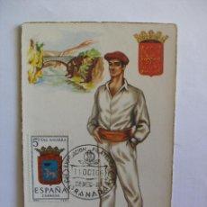 Postales: NAVARRA EXPOSICIÓN FILAT.ELICA GRANADA 1966 - POSTALES BEA P.E.P. MADRID. Lote 169473940