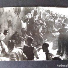 Postales: PAMPLONA NAVARRA ENCIERROS DE SAN FERMIN POSTAL FOTOGRAFICA ZUBIETA Y RETEGUI FOTOGRAFO. Lote 171748963