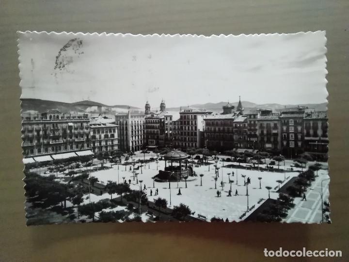 POSTAL PAMPLONA PLAZA DEL CASTILLO (Postales - España - Navarra Moderna (desde 1.940))