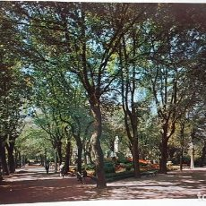Postales: ANTIGUA POSTAL DE NAVARRA. JARDINES TACONERA PAMPLONA 1968. Lote 172007484