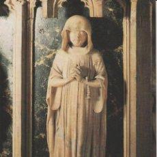 Postais: (017) PAMPLONA. CATEDRAL. SEPULCRO DE CARLOS III EL NOBLE. DETALLE: UN PLORANTE ... SIN CIRCULAR. Lote 172018304