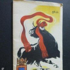 Postales: PAMPLONA SAN FERMIN 1956 PROGRAMA DE FIESTAS . Lote 172080785