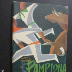 Postales: PAMPLONA SAN FERMIN 1961 PROGRAMA DE FIESTAS . Lote 172080992