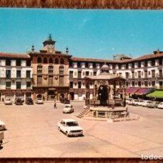 Postales: TUDELA - PLAZA DE LOS FUEROS. Lote 172138387