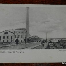 Postales: POSTALÑ DE MARCILLA. AZUCARERA NAVARRA. NO CIRCULADA. REVERSO SIN DIVIDIR.. Lote 173014720