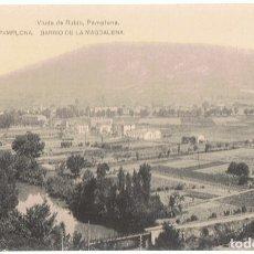 Postales: POSTAL PAMPLONA BARRIO DE LA MAGDALENA . Lote 173016070