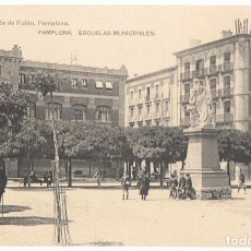 Postales: POSTAL PAMPLONA ESCUELAS MUNICIPALES . Lote 173018729