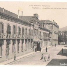 Postales: POSTAL PAMPLONA CUARTEL DEL GENERAL MORIONES . Lote 173018850