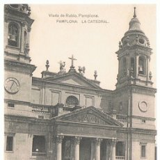 Postales: POSTAL PAMPLONA LA CATEDRAL . Lote 173956289