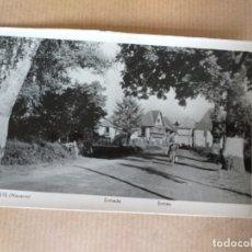 Postales: POSTAL DE BURGUETE, NAVARRA ENTRADA. Lote 174179424