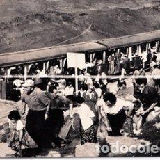 Postales: ALTO DE LARUN - VERA DE BIDASOA (NAVARRA) - LLEGADA DEL TREN AL ALTO. Lote 175180753