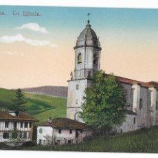Cartoline: LESAKA - LA IGLESIA. Lote 175706268