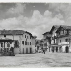 Cartoline: VERA DE BIDASOA - PLAZA DE ALZATE. Lote 175706695