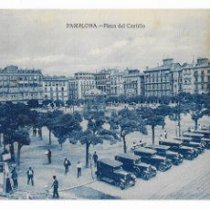 Postales: PAMPLONA - PLAZA DEL CASTILLO. Lote 175709059