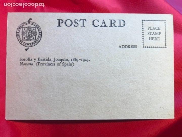 Postales: NAVARRA JOAQUIN SOROLLA ALCADE DEL VALLE DEL RONCAL PROVINCES OF SPAIN HISPANIC SOCIETY OF AMERICA - Foto 2 - 175711479