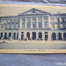 Postais: POSTAL DE DIPUTACIÓN DE PAMPLONA. Lote 176353195