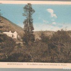 Postales: POSTAL ANTIGUA COLOR RONCESVALLES, DESFILADERO DONDE FUERON DERROTADOS ,SIN ESCRIBIR .N. Lote 176574118