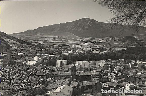 X122480 NAVARRA CIZARRA ESTELLA VISTA PARCIAL AL FONDO MONTEJURRA (Postales - España - Navarra Antigua (hasta 1.939))