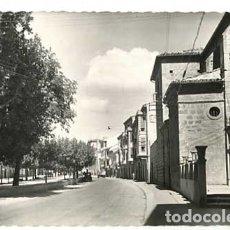 Cartes Postales: NAVARRA TAFALLA AVENIDA S. FERNÁNDEZ Y PASEO PADRE CALATAYUD. ED. GARCIA GARRABELLA 8. CIRCULADA. Lote 177309444
