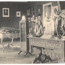 Postales: POSTAL PAMPLONA AYUNTAMIENTO MUSEO DE SARASATE . Lote 177792288