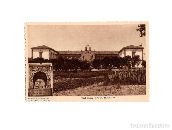 TAFALLA.(NAVARRA).- SANTO HOSPITAL. (Postales - España - Navarra Antigua (hasta 1.939))