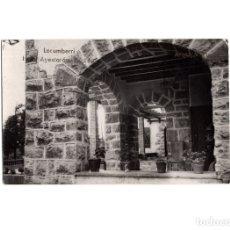 Postales: LECUMBERRI.(NAVARRA).- HOTELES AYESTARÁN. POSTAL FOTOGRÁFICA.. Lote 178094293
