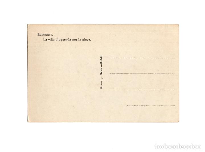 Postales: BURGUETE.(NAVARRA).- LA VILLA BLOQUEADA POR LA NIEVE. - Foto 2 - 178268987