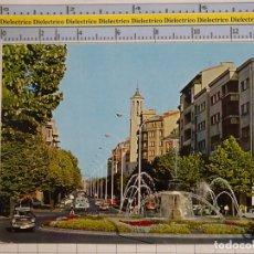 Cartoline: POSTAL DE NAVARRA, PAMPLONA. AÑO 1971. AVENIDA DEL GENERAL FRANCO. JEEP LAND ROVER. 77. Lote 178393925