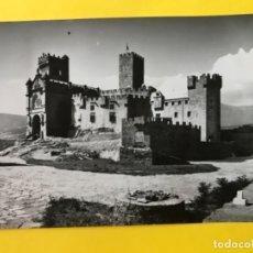 Postales: POSTAL NAVARRA FOTOGRAFICA CASTILLO DE JAVIER VISTA DEL CASTILLO Y BASILICA ED SICILIA POSTAL 3 . Lote 178973288