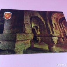 Postales: POSTAL-NAVARRA-MONASTERIO DE LEYRE-CRIPTA CAROLINGIA-IMPOLUTA-VER FOTOS. Lote 179338425